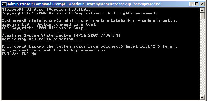 How to Backup and Restore Active Directory on Server 2008