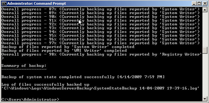 How to Backup and Restore Active Directory on Server 2008 - 6