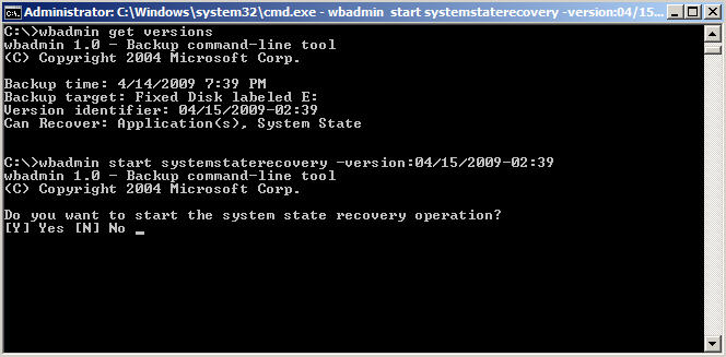 How to Backup and Restore Active Directory on Server 2008 - 9