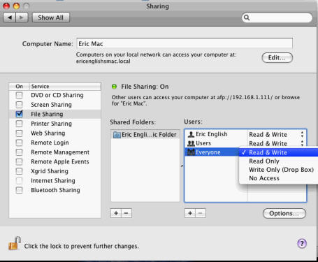 How to Share Files between Mac and PC - Leopard and Vista - 14