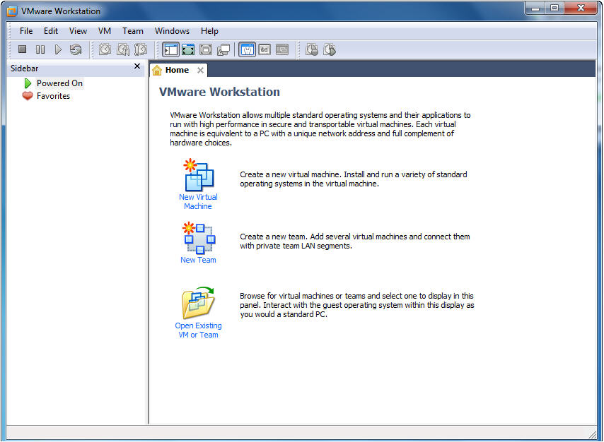 Creating a Virtual Machine