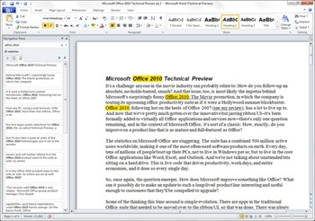 Features and Benefits of MS Word 2010 | Pluralsight