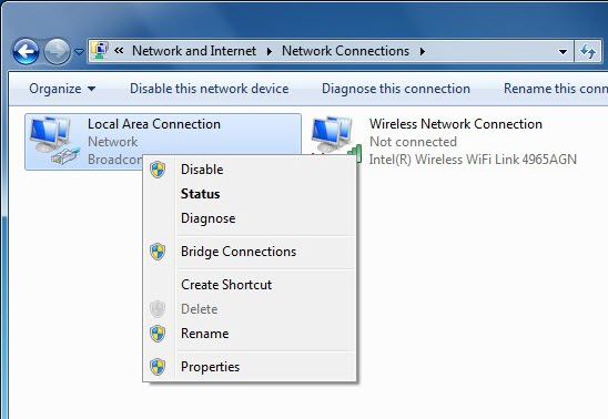 How to Setup a Static IP Address in Windows 7