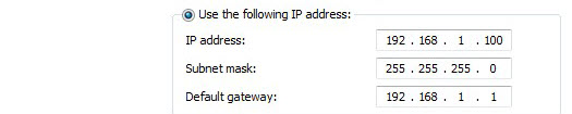How to Configure a Static IP Address in Windows 7