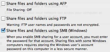 How to Share Files Between Mac and PC: Snow Leopard and