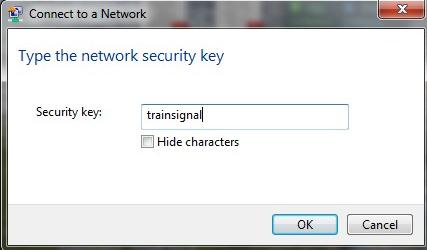 Windows 7 Ad-Hoc Network Configuration