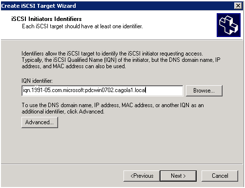 Getting Familiar with iSCSI Part 2: Configuring the