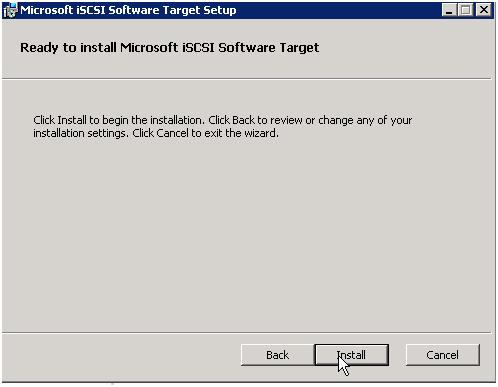microsoft iscsi software target