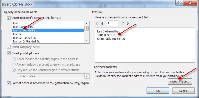 Mail Merge For Dummies Creating Address Labels Using Word And Excel 2010 Pluralsight