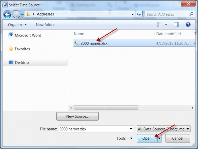 Mail Merge for Dummies: Creating Address Labels using Word