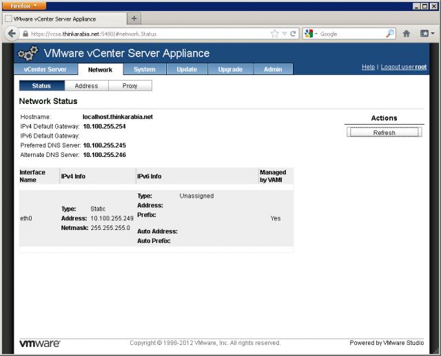How to Set Up vCenter 5 1 Server Appliance   Pluralsight