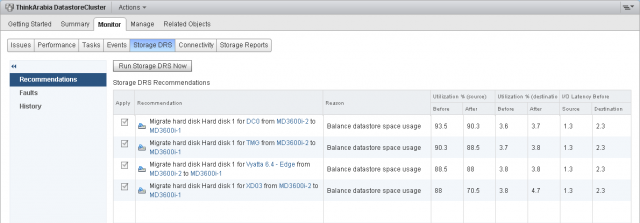 How to Configure Storage DRS Datastore Clusters in VMware