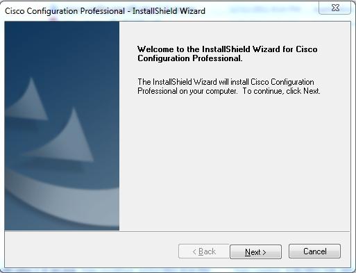 Installing Cisco Configuration Professional (CCP) | Pluralsight