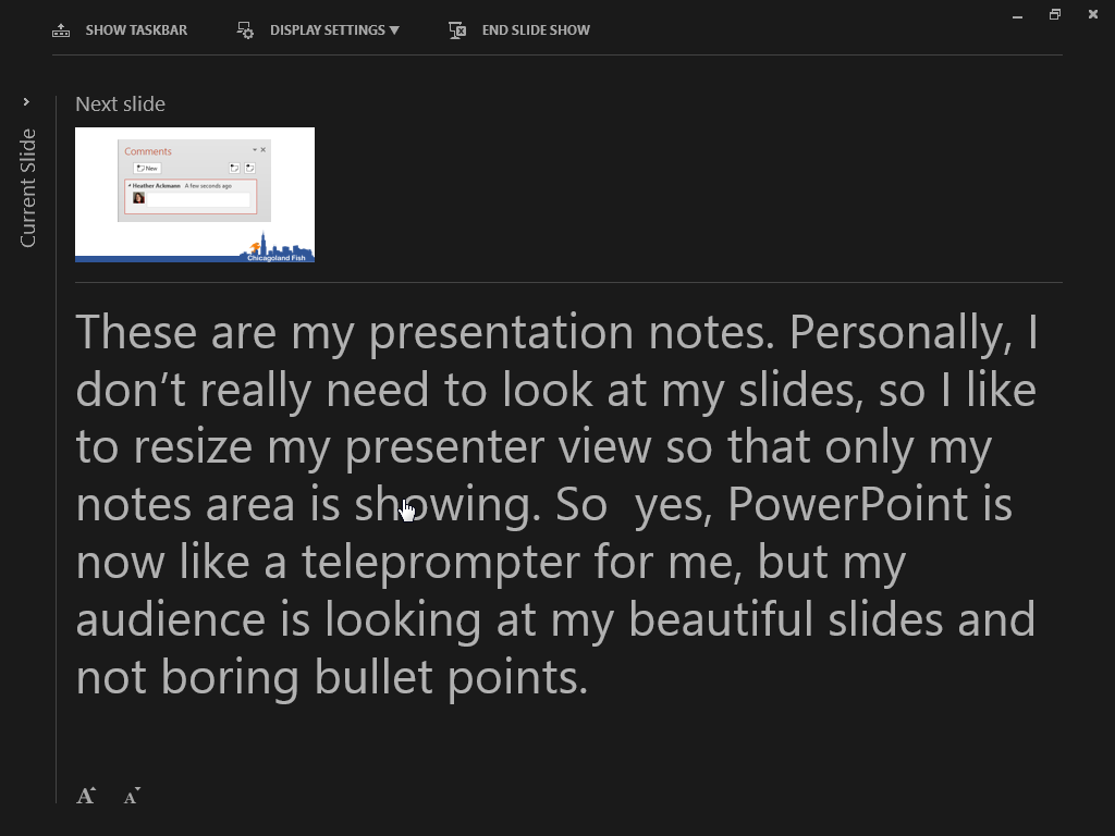 New kind of powerpoint