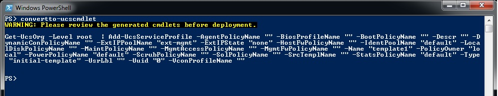 Cisco UCS Platform Emulator with PowerShell | Pluralsight