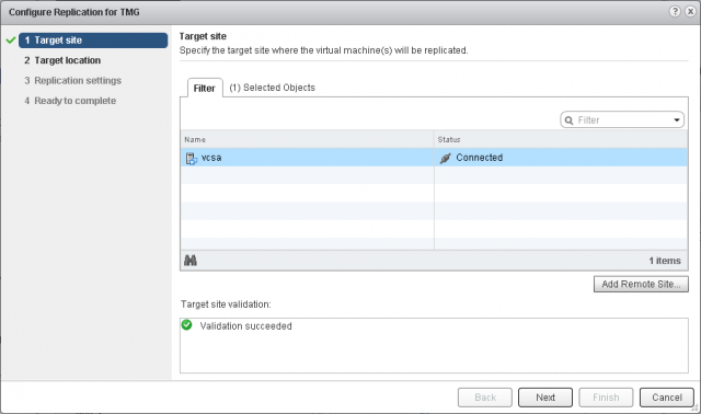 vsphere replication 6.1 plugin missing