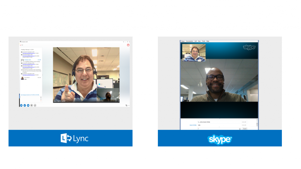 how to make a video call in microsoft lync