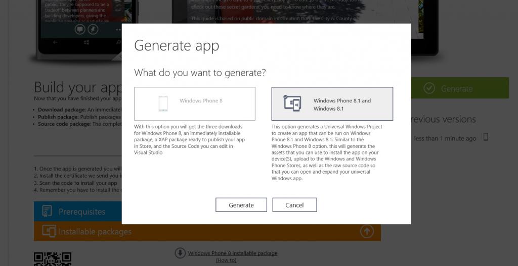 Taking Windows Phone apps from App Studio to Visual Studio