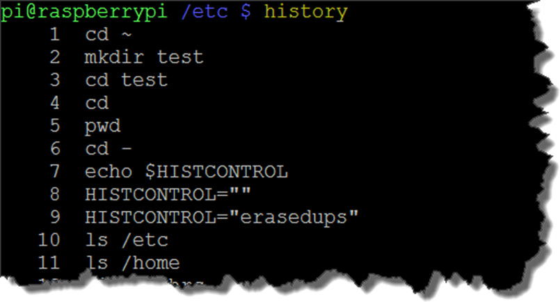 How to use the bash command line history | Pluralsight