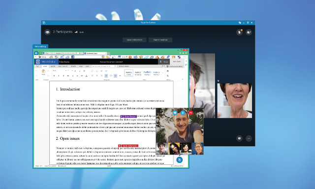 Skype for Business Real Time Co-authoring