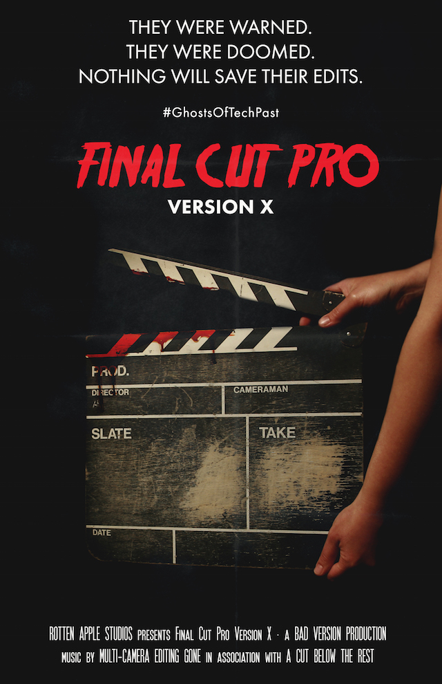 Final Cut Pro - Ghosts of tech past