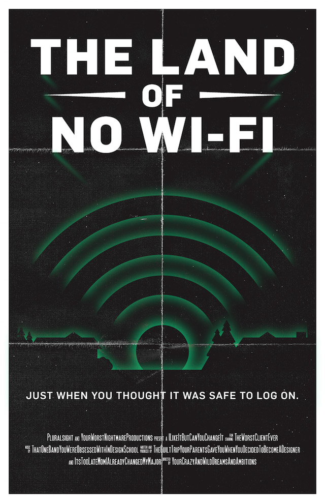 Land of no wi-fi - Ghosts of tech past