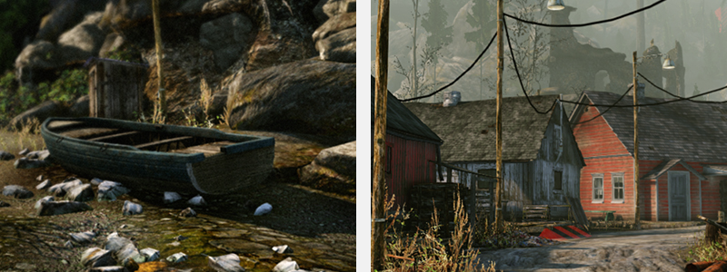 CryEngine side by side