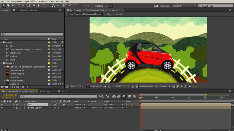 Learn Nesting Compositions in After Effects | Pluralsight