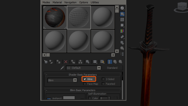 Two Easy Methods for Rendering Wireframes in 3ds Max