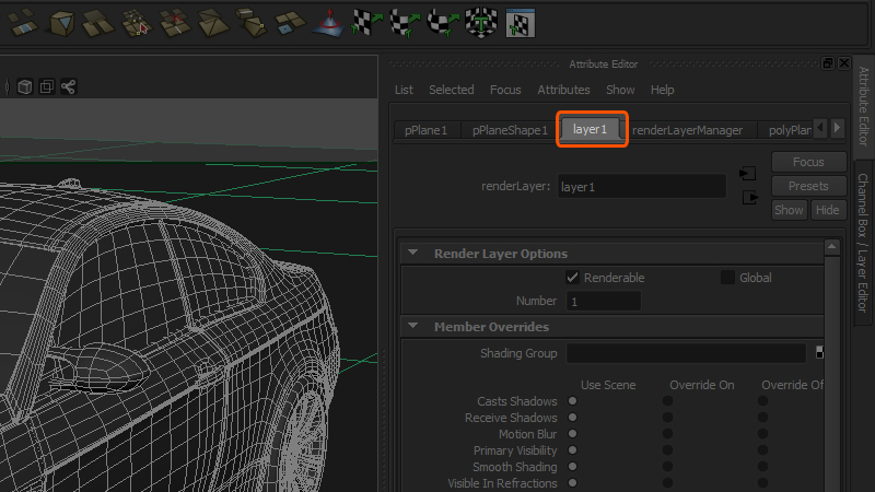 Rendering Ambient Occlusion Passes in Maya | Pluralsight