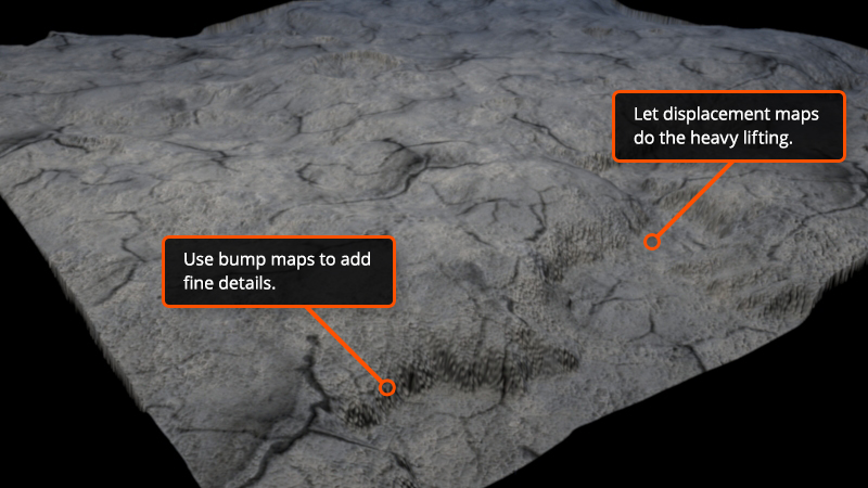 Difference between Displacement, Bump and Normal Maps | Pluralsight