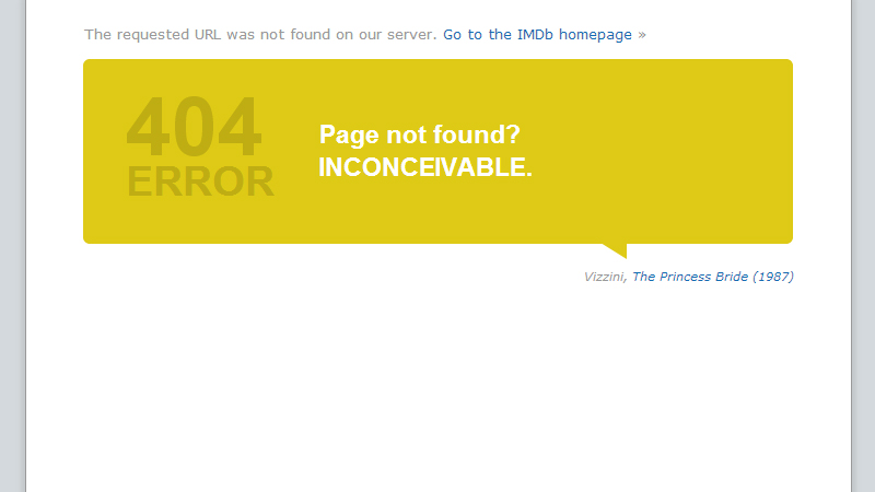 imdb.com 404 error page screenshot
