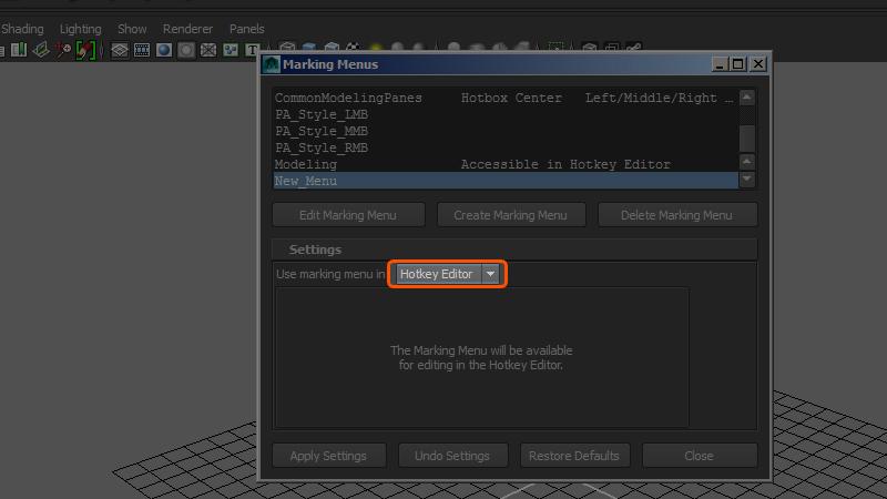 Hotkey Editor button