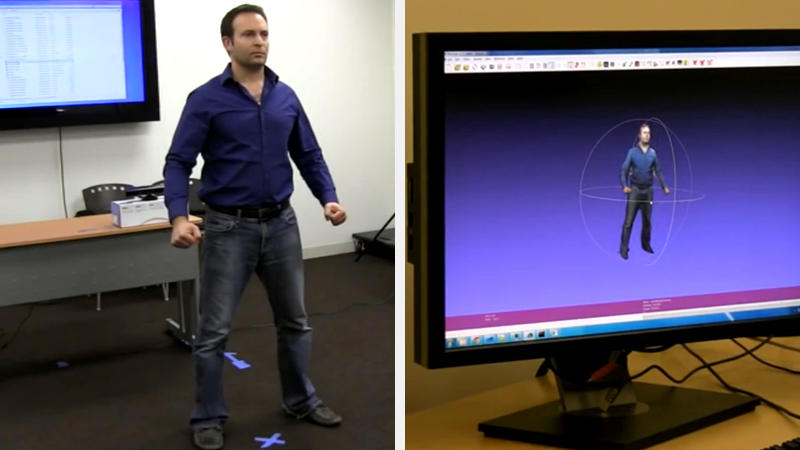 Kinect Scan