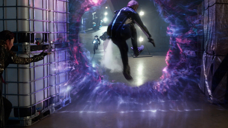 X-Men Days of Future Past Future Blink's Portal