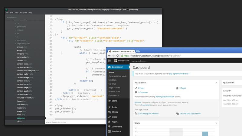WordPress Code and The Admin Dashboard