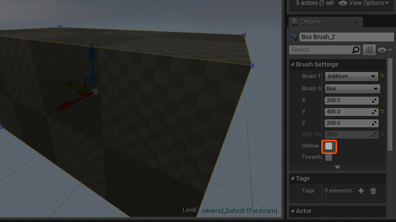 Mastering the Basics of Unreal Engine 4: BSP Geometry
