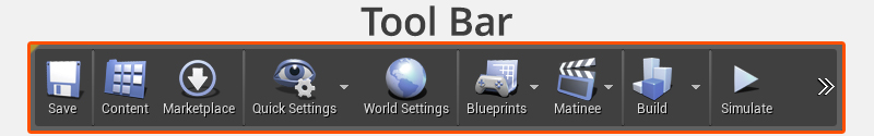 tool bar