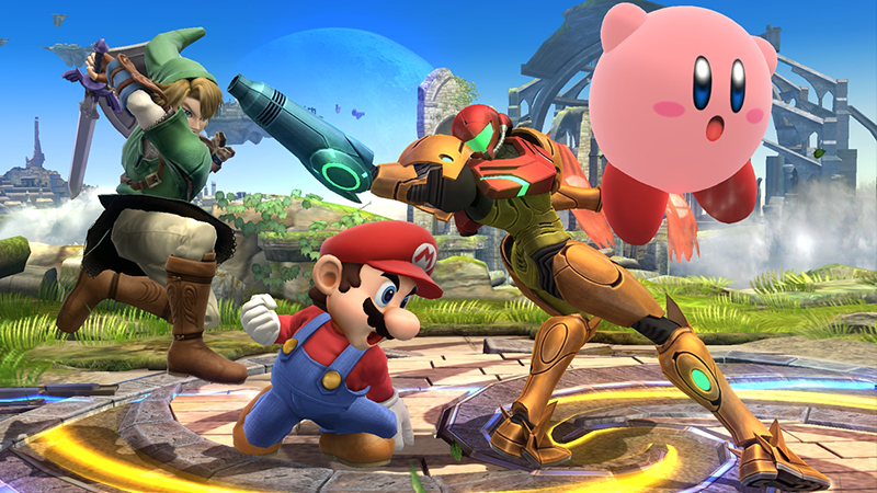 Smash Bros Wii U screenshot