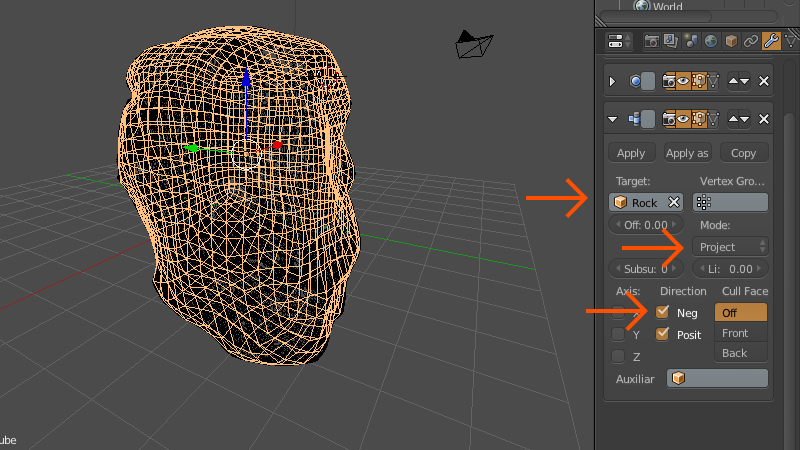 Retopologize Nine Times Faster with the Shrink Wrap Modifier