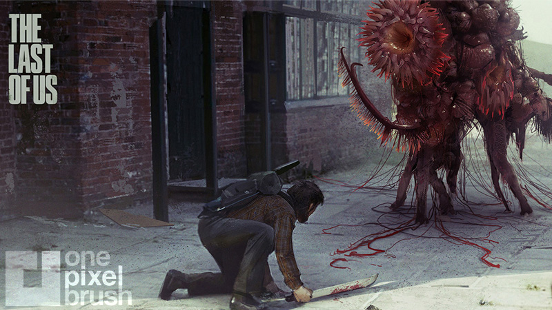 Blob monster from The Last of Us.