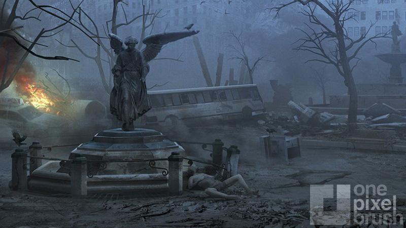 Parkopalypse concept art from Phantom Dust.