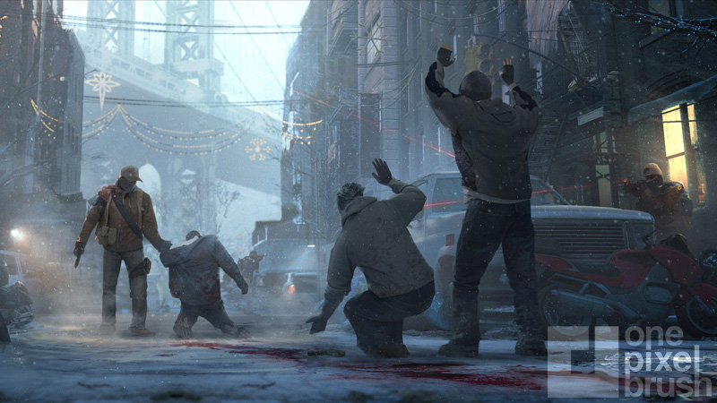 Concept art for The Division.