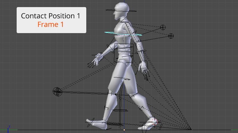 How to Create a Walk Cycle Animation in Blender | Pluralsight