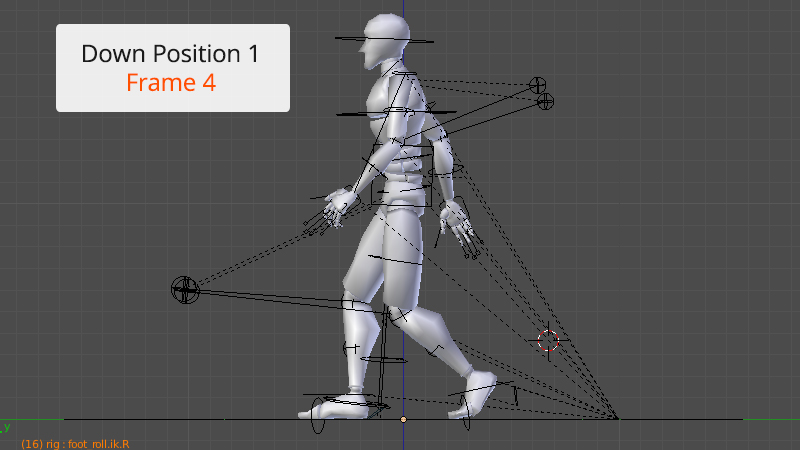 blender how to make walking animation
