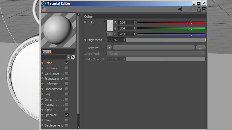 material editor image