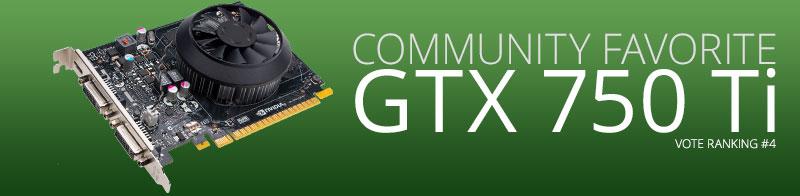 NVIDIA GeForce GTX 750 Ti GPU