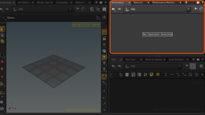 Houdini14_Properties Panel