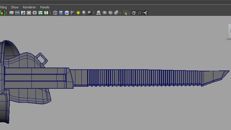 Modeling a Knife_image 19