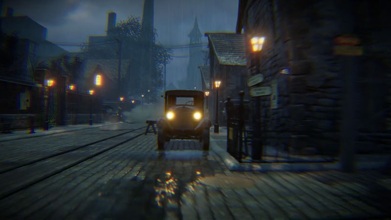 Ghost town screenshot in Autodesk Stingray.